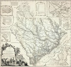 James Cook's South Carolina Map