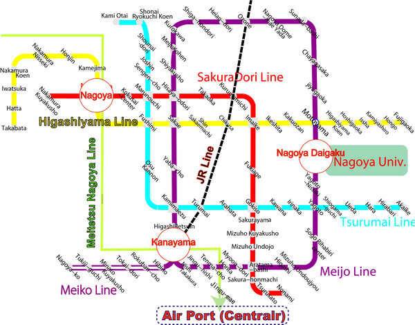 Japan Subway Map