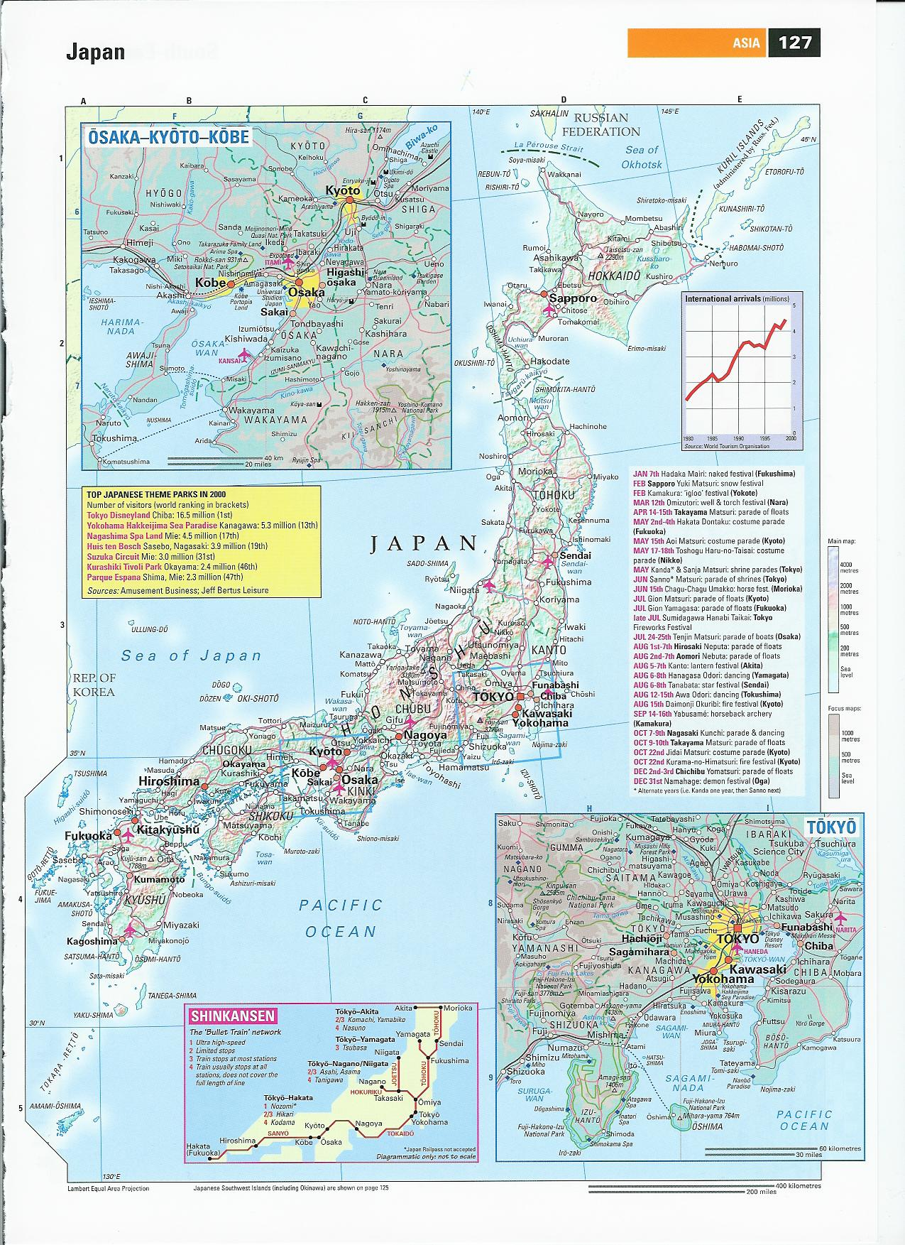 Japan Tourist Map Japan mappery – Japan Tourist Map