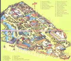 Japanese Village and Deer Park Map
