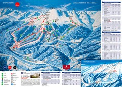 Jasná Ski Trail Map