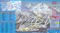 Jasper's Marmot Basin Ski Trail Map