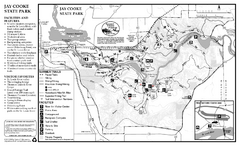 Jay Cooke State Park Summer Map
