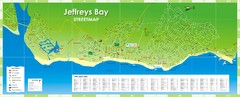 Jeffreys Bay Tourist Map