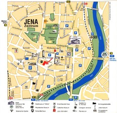 Jena City Map