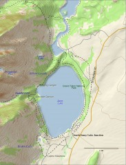Jenny Lake Hiking Map