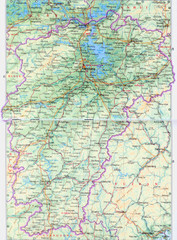 Jiangxi Province Tourist Map