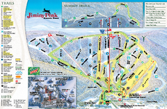Jiminy Peak Resort Ski Trail Map