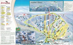 Jiminy Peak Ski Trail Map