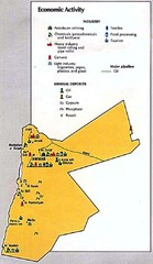 Jordan Economic Activity Map