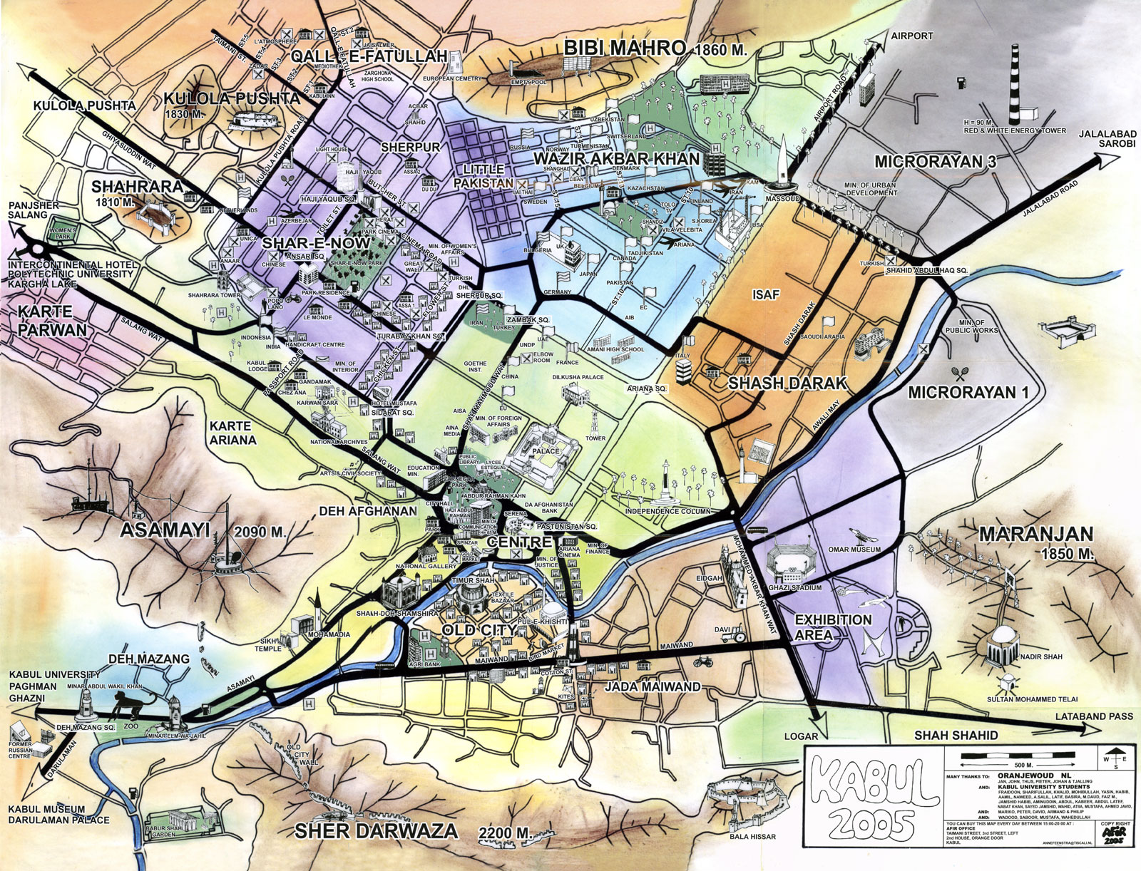 City map sites perry castaeda map collection ut library online kabul afghanistan mappery gumiabroncs Gallery
