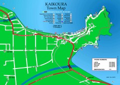 Kaikoura Town Map