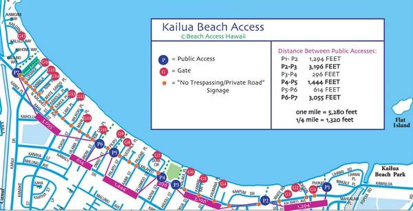 Kailua Beach Map Kailua Beach Mappery