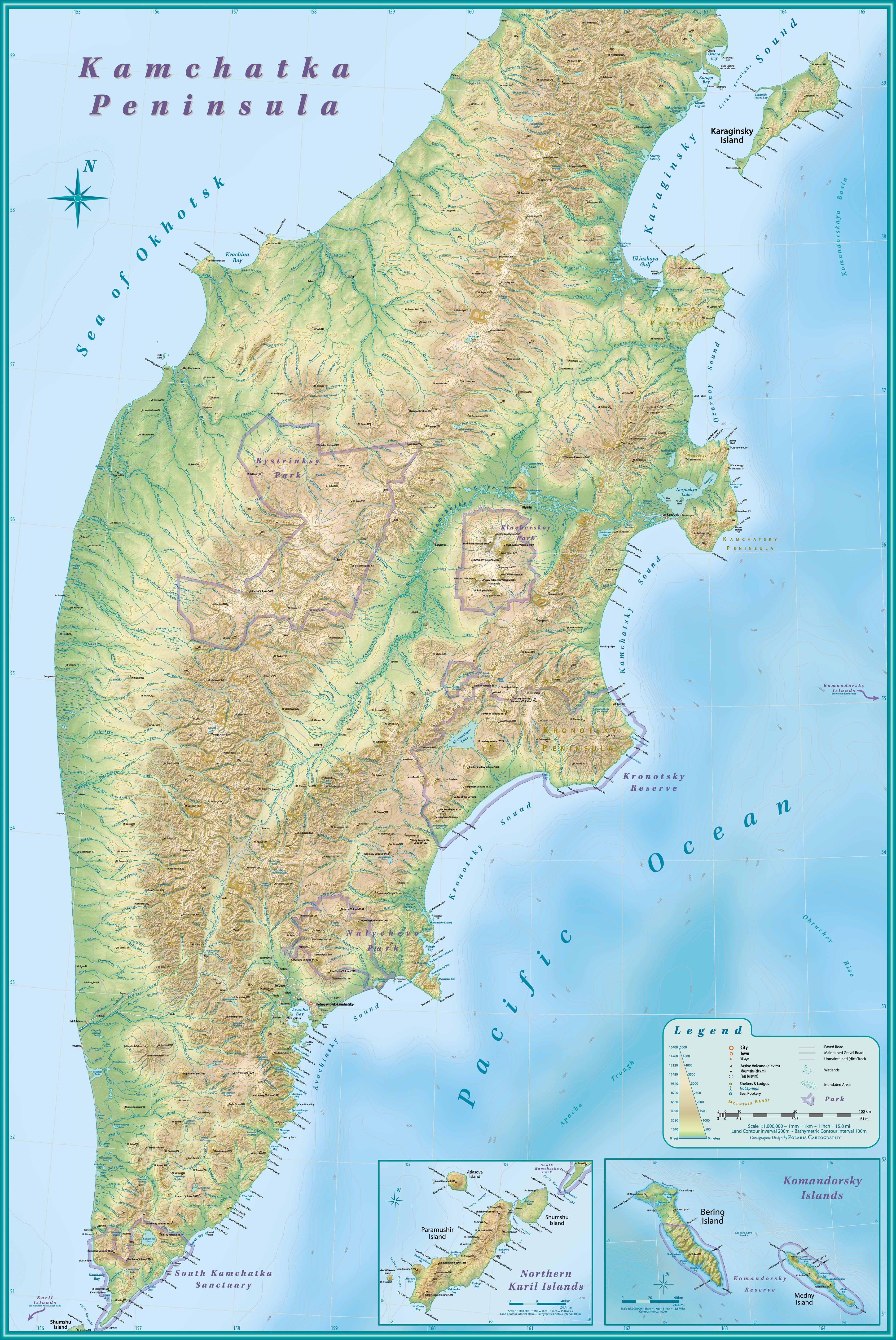 Kamchatka Peninsula map - Kamchatka russia • mappery on petropavlovsk russia map, chukchi peninsula russia map, karakum desert russia map, tuva russia map, sarajevo russia map, tallinn russia map, hawaii russia map, ussr map vs russia map, moscow russia map, siberia map, active volcanoes in russia map, iceland russia map, kola peninsula russia map, nyagan russia map, stavropol russia map, kalmykia russia map, sakhalin russia map, vilnius russia map, sakha russia map, eastern russia map,