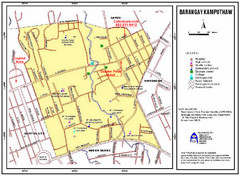 Kamputhaw Tourist Map