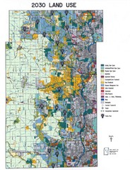 Kane County Land Use Map