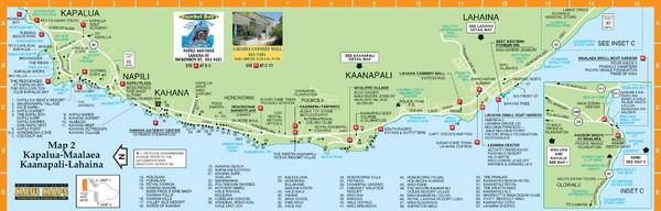 KapaluaLahaina Map Lahainia HI US mappery