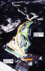 Karigahara Ski Trail Map