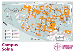 Karolinska Institute Solna Campus Map