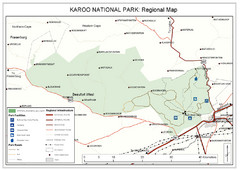 Karoo National Park Map