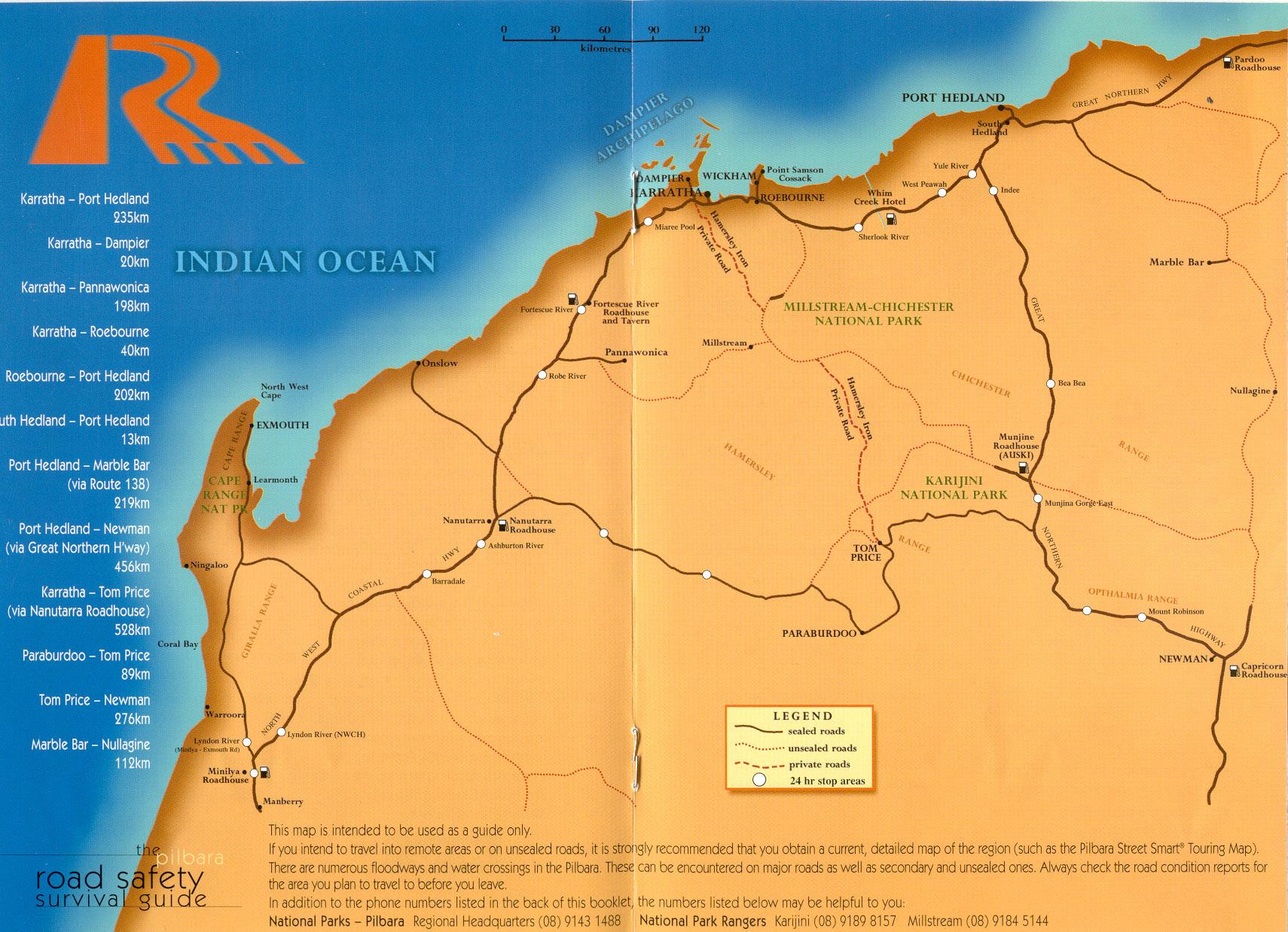 Karratha Australia  city photo : Karratha Road Map Karratha Australia • mappery