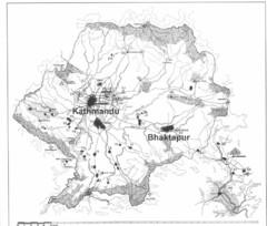 Kathmandu City Tourist Map - Kathmandu • mappery on windhoek city street map, shanghai city street map, juba city street map, chicago city street map, munich city street map, jerusalem city street map, montevideo city street map, phoenix city street map, athens city street map, kowloon city street map, kigali city street map, hobart city street map,