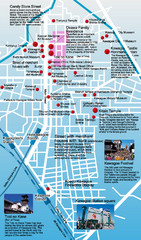 Kawagoe Tourism Map