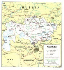 Astana+city+map