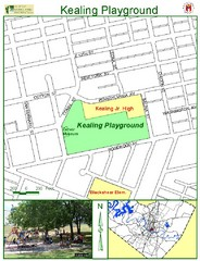 Kealing Playground Map