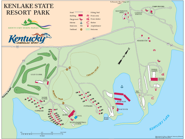KenLake State Resort Park Map