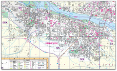 Kennewick, Washington City Map