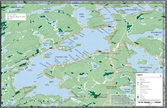 Kennisis Lakes Map