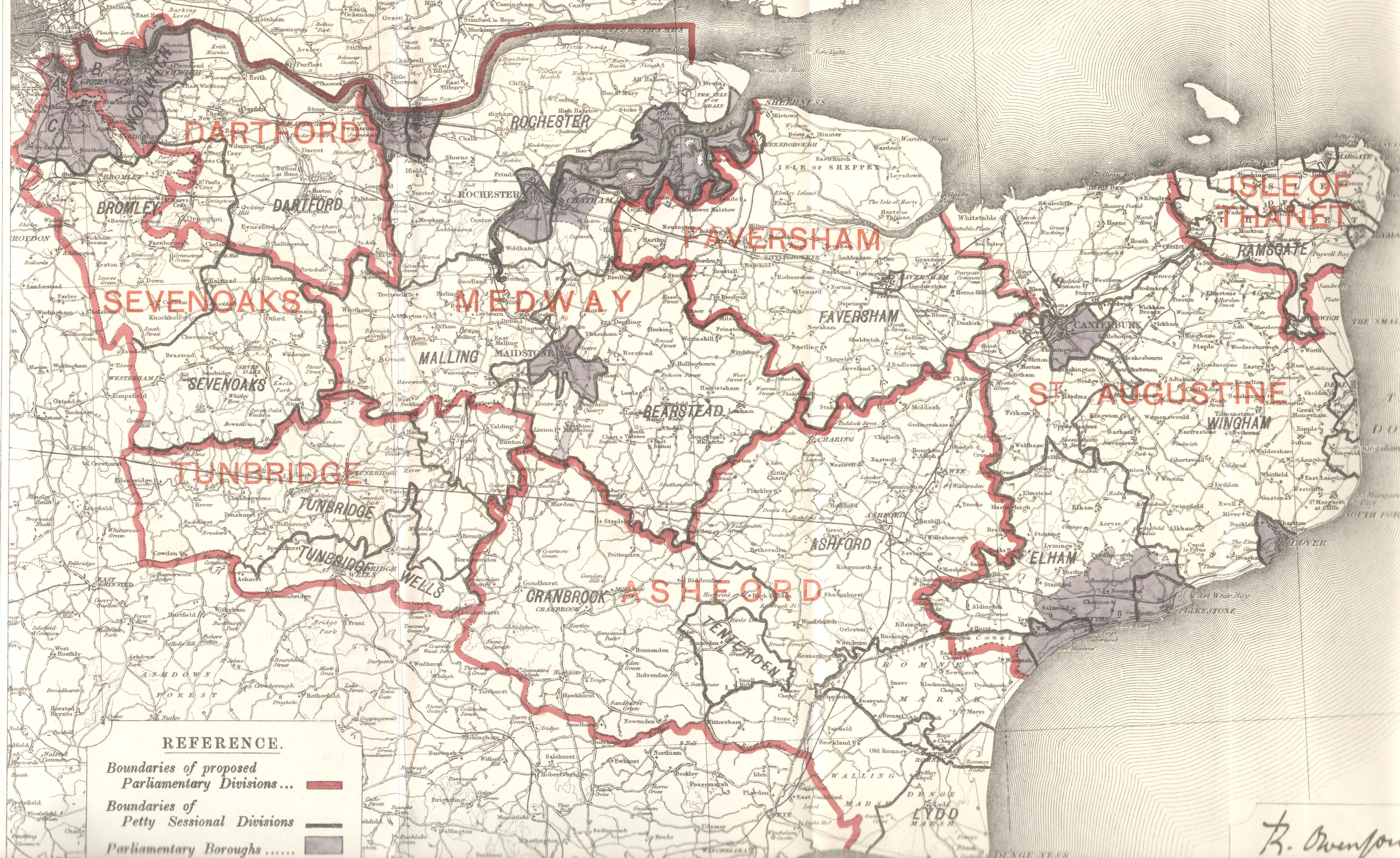 Map Of England Kent.Kent England County Map Kent England Mappery