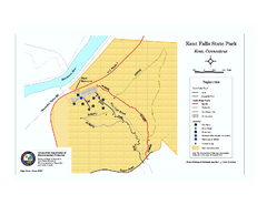Kent Falls State Park trail map