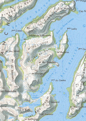 Kerguelen Island detail Map