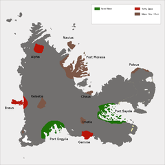 Kerguelen Island land use Map