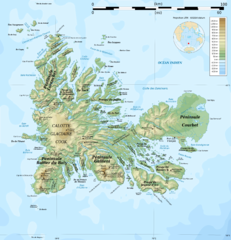 'Kerguelen Island topo Map' from the web at 'http://www.mappery.com/maps/Kerguelen-Island-topo-Map.thumb.png'