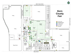 Kern County Fair Map