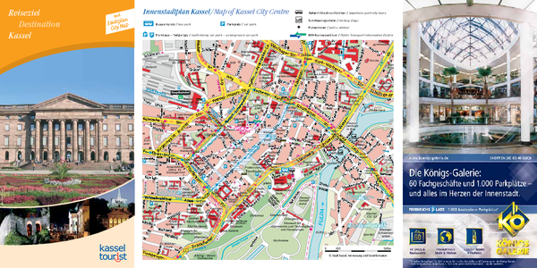 Kessel Tourist Map - Kessel Germany • mappery