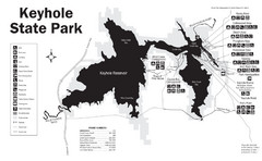 Keyhole State Park Map