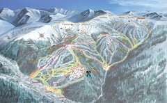 Keystone Resort Ski Trail Map