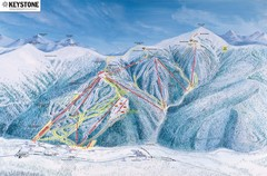 Keystone Ski Area Map