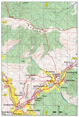 Khasadrapchu to Thimphu trail pt 1 Map