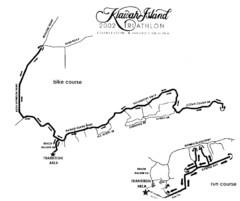 Kiawah Island Triathlon Map