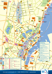 Kiel Tourist Map