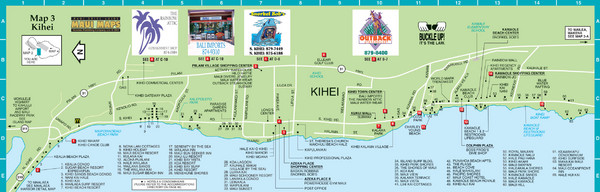 Fullsize Kihei Map