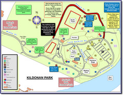 Kildonan Park, Winnipeg, Manitoba Tourist Map