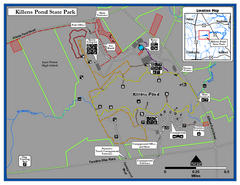 Killens Pond State Park Map