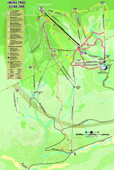 Killington Hiking Trail Map