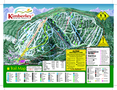 Kimberley Alpine Resort Ski Trail Map